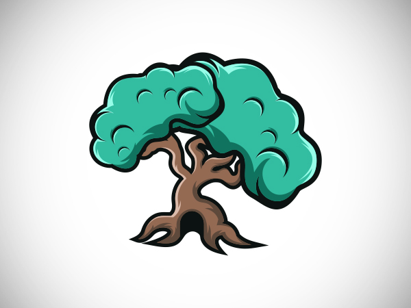 Home Tree Logo Design