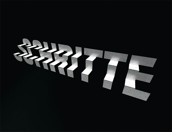 How to Create a 3D Folded Steps Text Effect in Adobe Photoshop