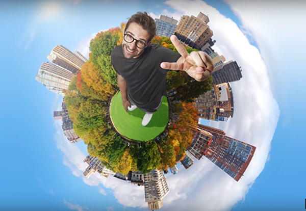 How To Create a Tiny Planet Effect