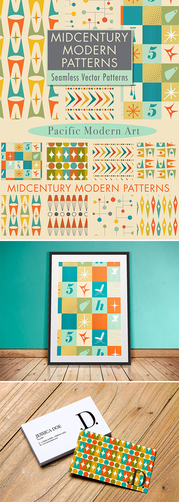 8 New & Modern Pattern Designs Free Download