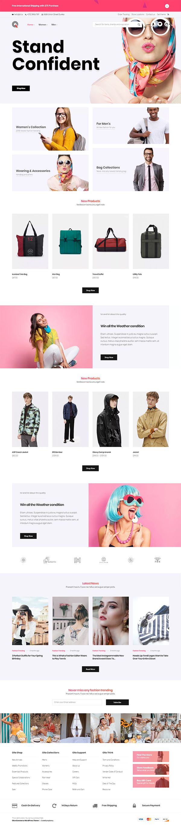 Olla - Modern WooCommerce WordPress Theme