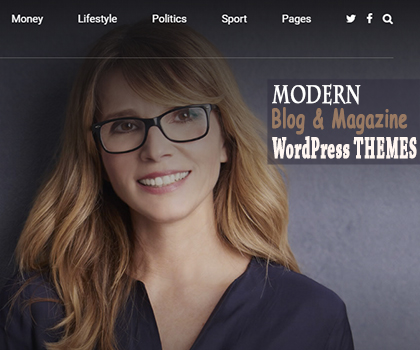 Post thumbnail of 10 Modern Magazine and Blog WordPress Themes