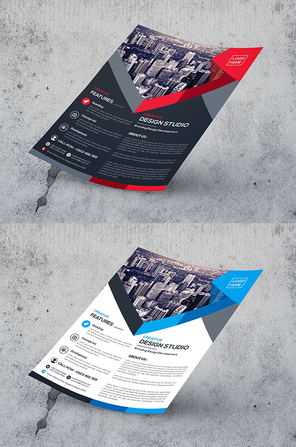 Elegant Flyer Template Design