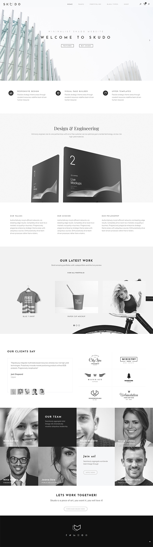 Skudo - Responsive Multipurpose WordPress Theme