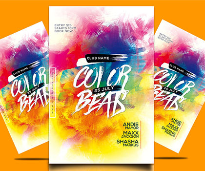 Creative & Cool Eye-catching Flyer Templates Designs