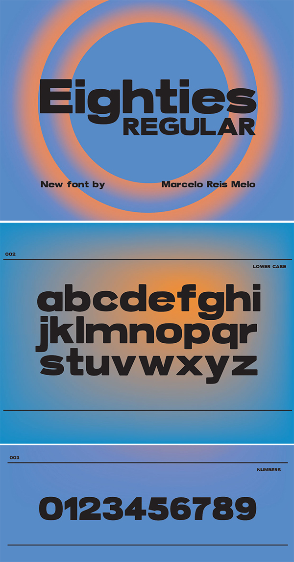 Eighties Free Font