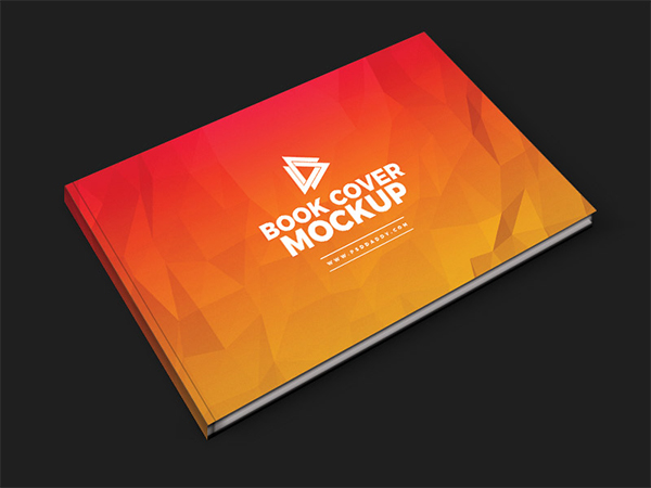 Brochure Book Cover Mockup