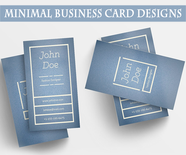 minimul_businesscard_design