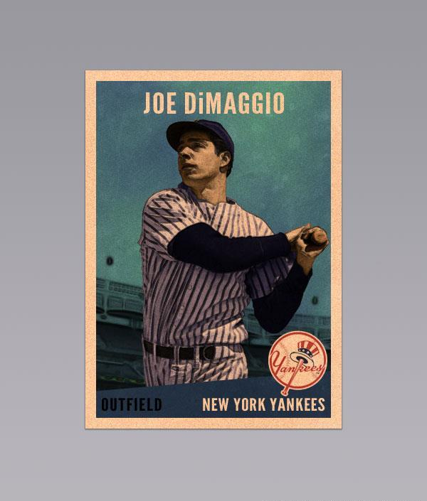 Tutorial For Designing A Vintage Baseball Card In Photoshop