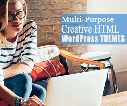 Responsive & Modern HTML WordPress Themes