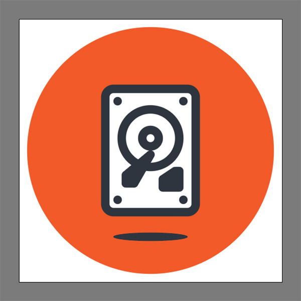 How to Illustrate an HDD Icon in Adobe Illustrator