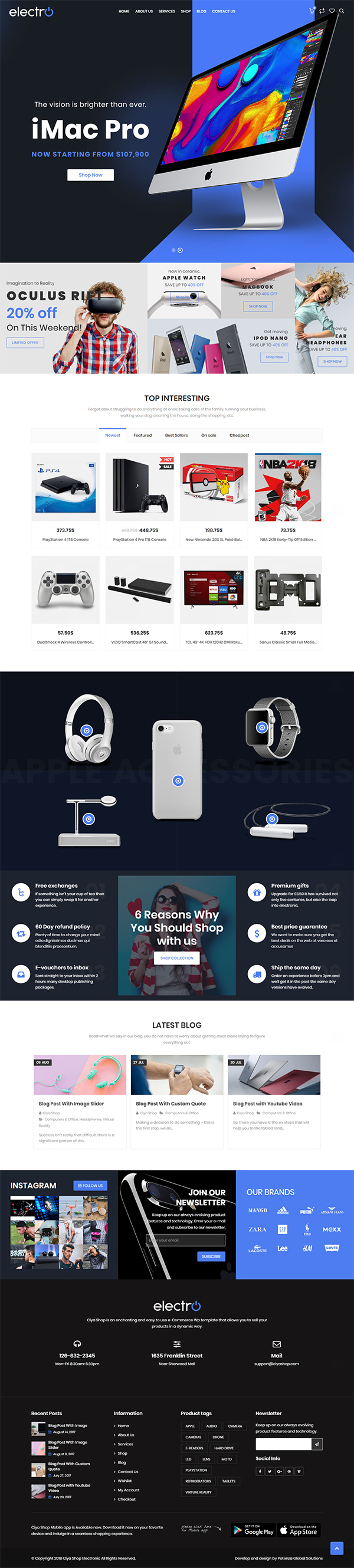 CiyaShop – Responsive Multi-Purpose WooCommerce WordPress Theme