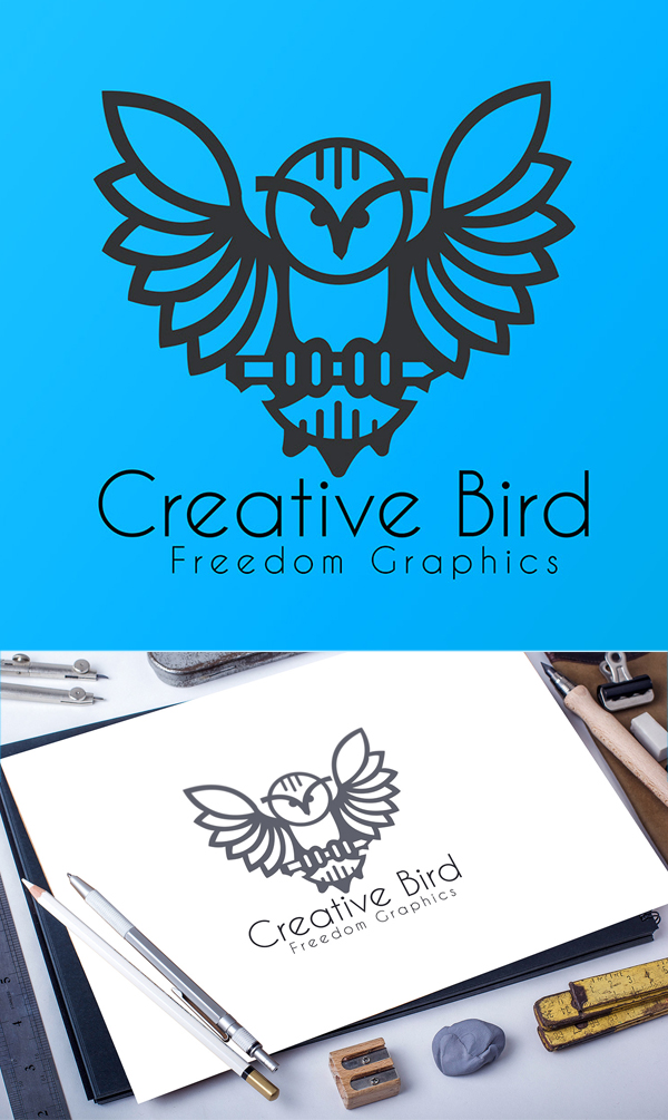 Creative Bird Logo Design