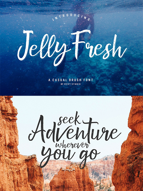 Jelly Fresh Font