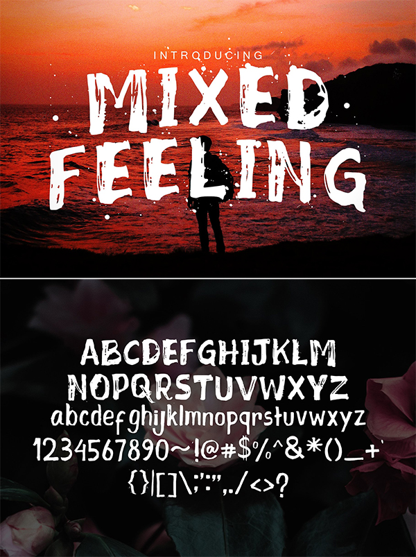Mixed Feeling Font