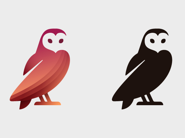 Barn Owl Logo Design