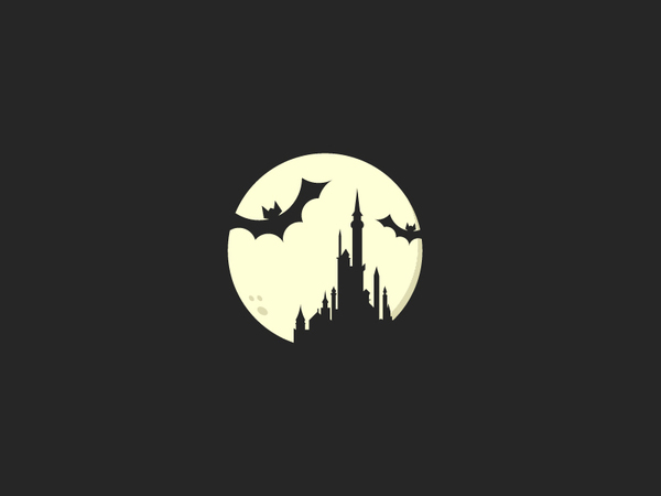 Hallowen Castle Logo