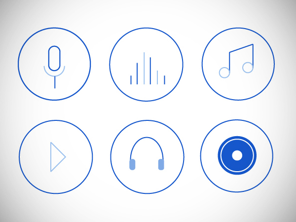 Music icons free