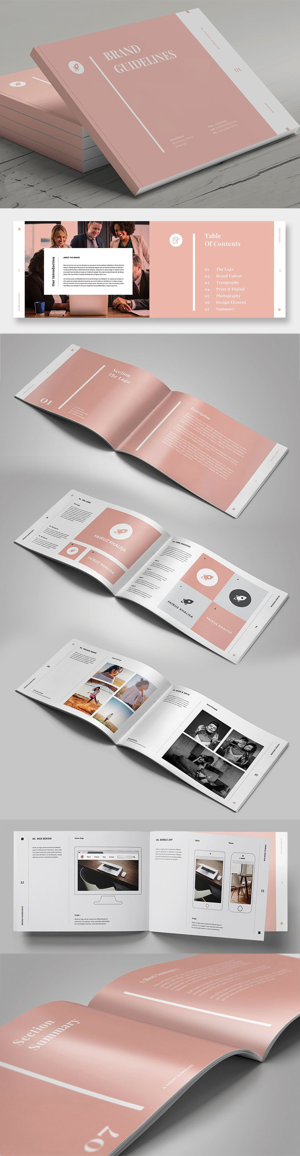 Brand Guidelines Brochure