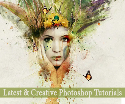 15 Fresh & Creative Photoshop Tutorials