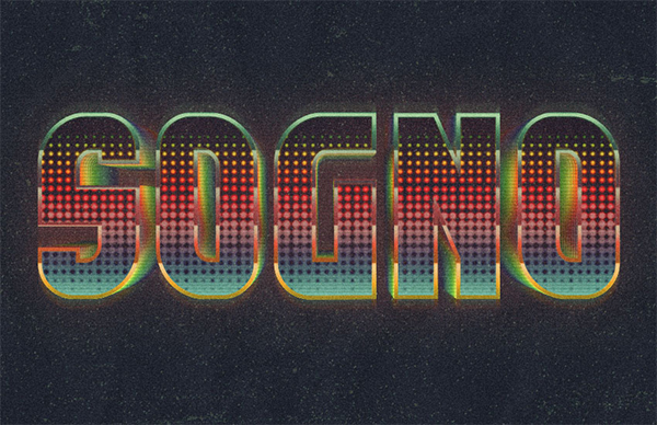 How to Create a Retro, Colorful, Halftone Text Effect in Adobe Photoshop