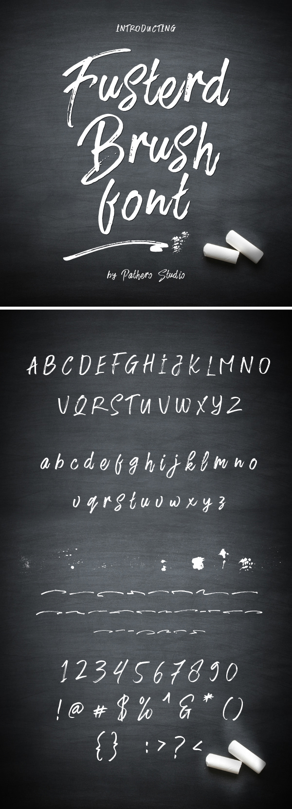 Awesome Brush Free Font