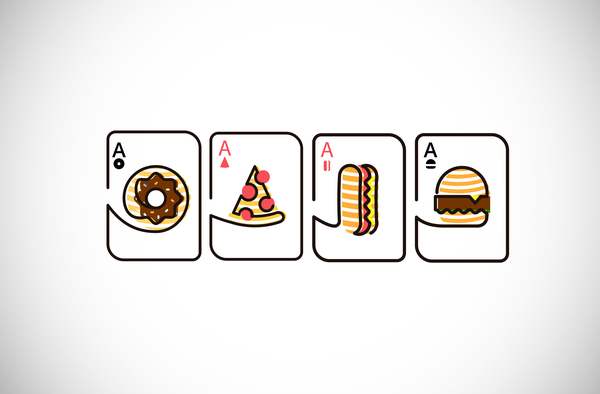Illustration: Design Delicious Poker Aces