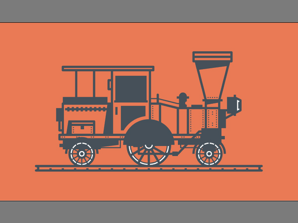 Illustration: Create a Western Train