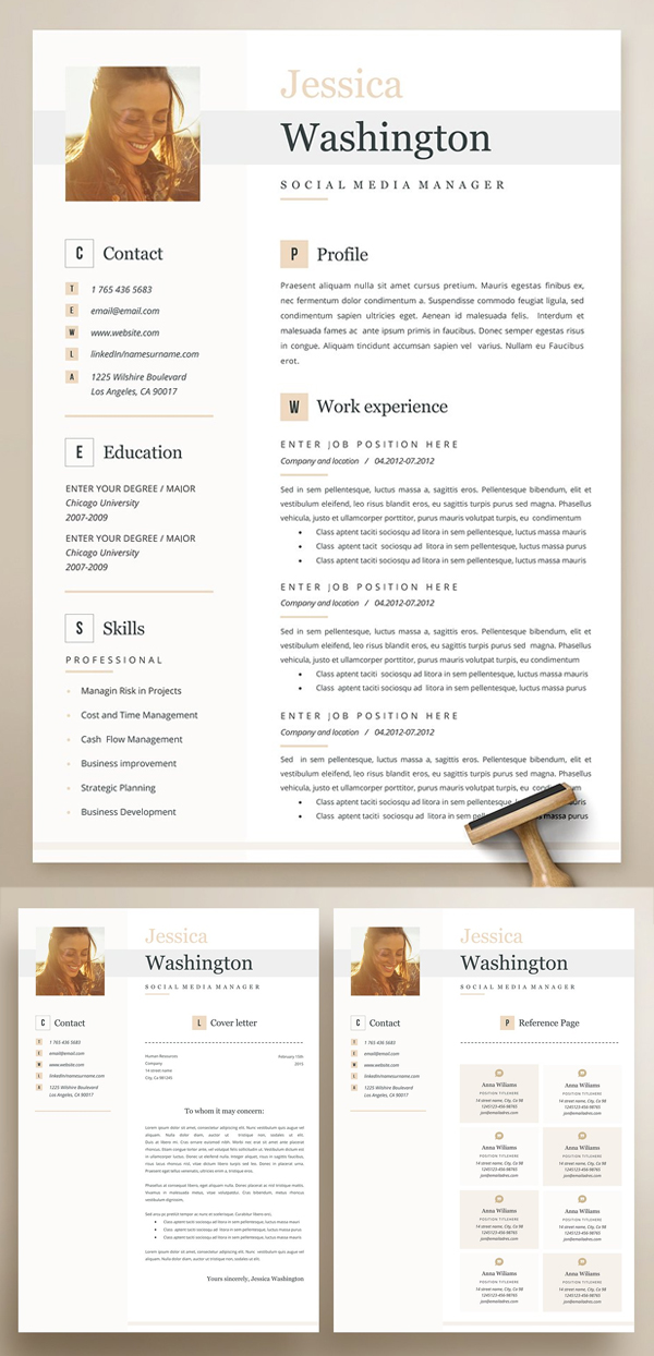 Stylish & Modern Resume Template
