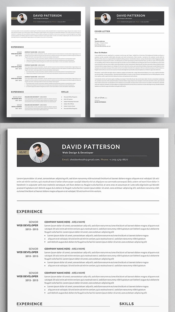 Professional & Clean Resume / CV