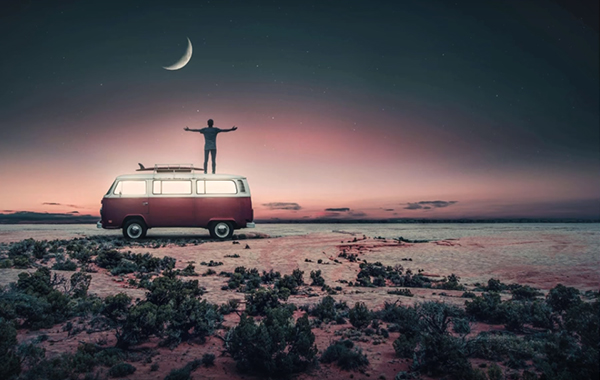 Sunset – Trendy Instagram Manipulation