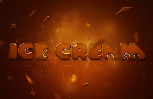 How to Make Delicious Ice Cream Text in Photoshop