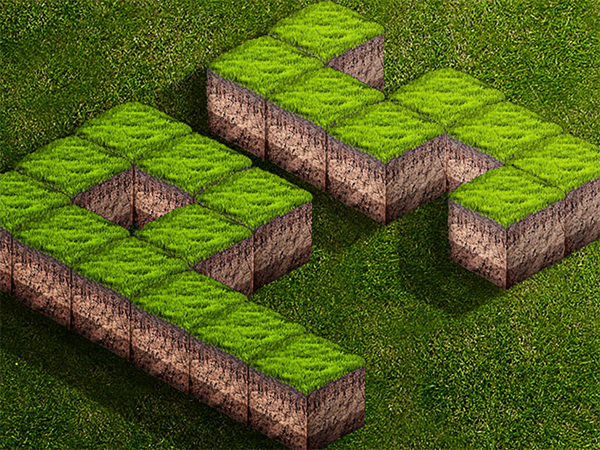 Create A 3D Grass Text Effect In Photoshop