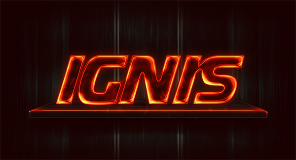 How to Create a Neon Flame Text Effect Action in Adobe Photoshop