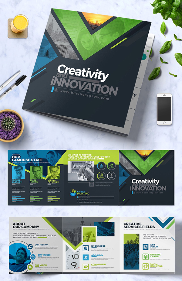 Creative Brochure Template Design