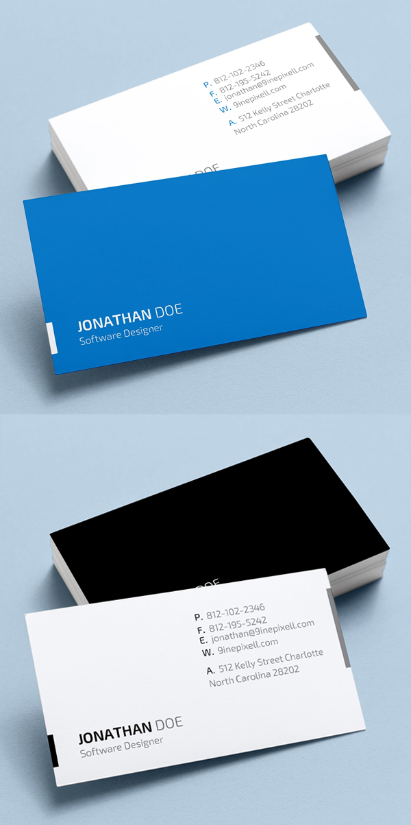 Microsoft Word Business Cards