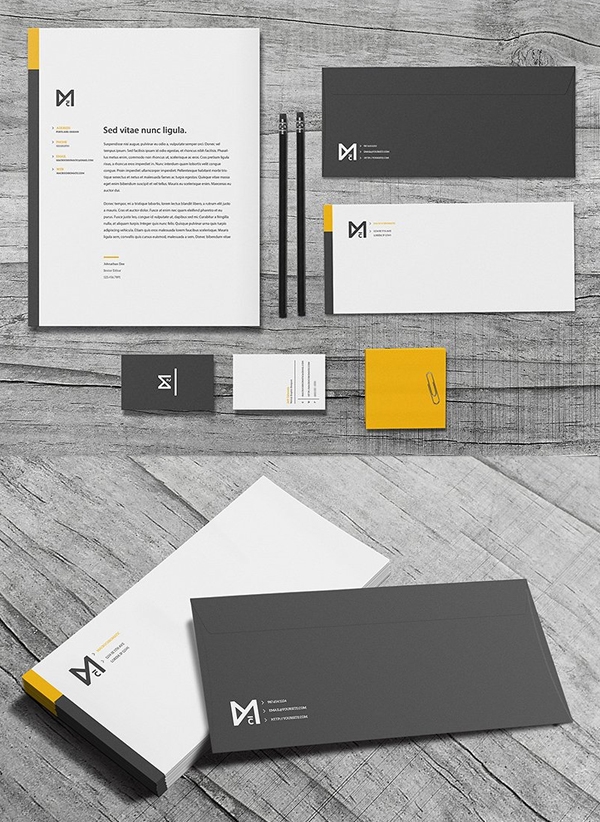 Chroma - Stationery Set