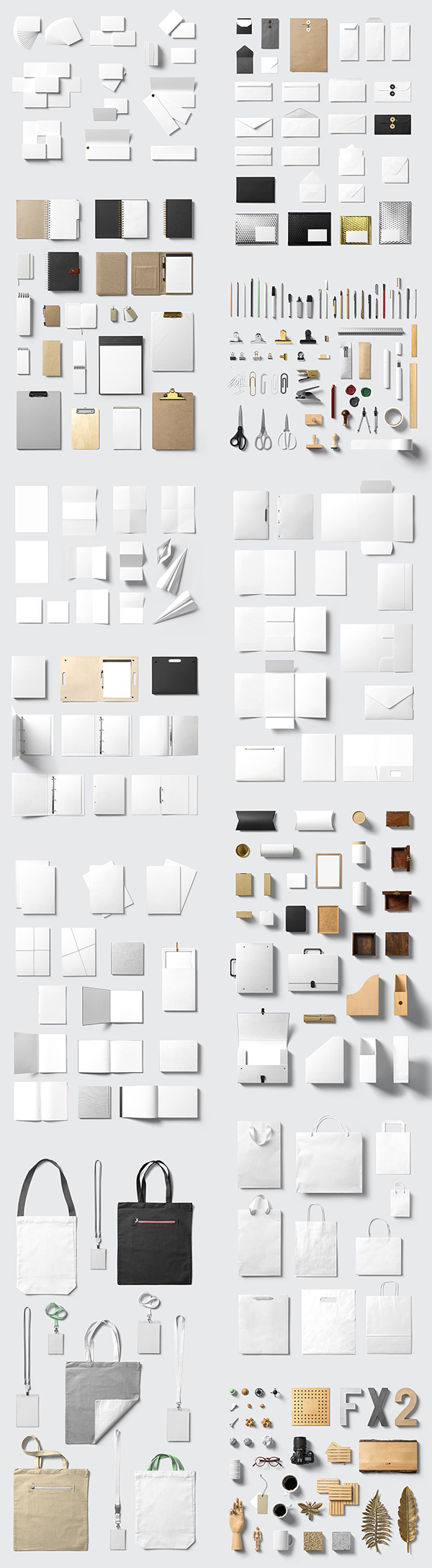Stationery Mockups - Corporate Pack