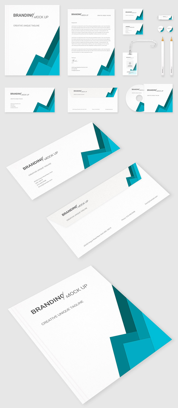 Elegant & Creative Stationery Mockups