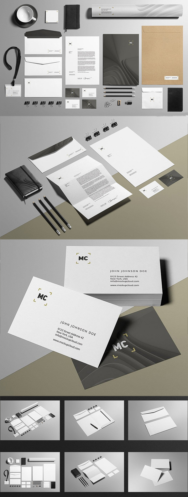 Business Stationery / Mock-Up