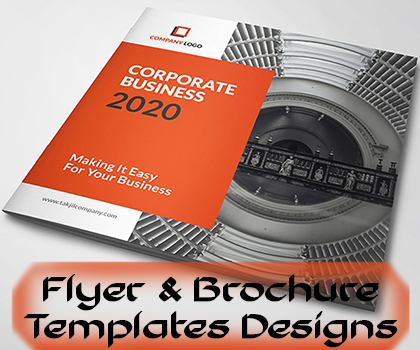 Cool Hand-Picked Flyers And Creative Business Brochure Templates Designs