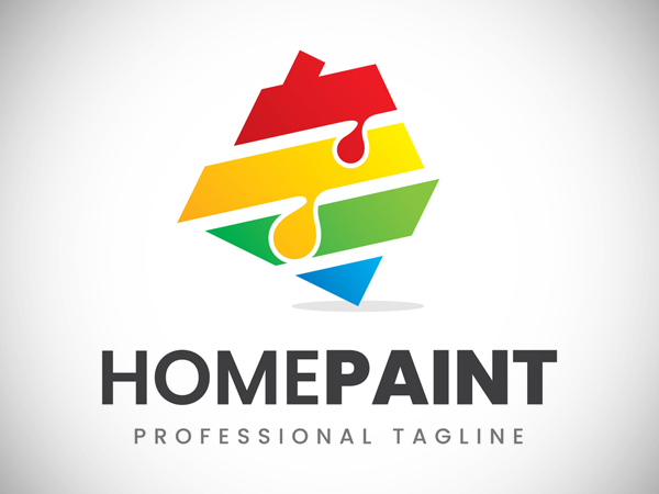 Home Paint Logo Design