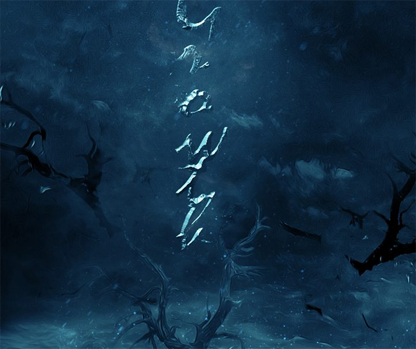 """Create """"Cold Winter Night"""" Text Effect in Photoshop"""