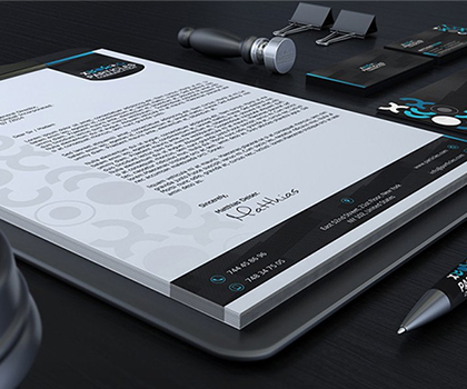Fresh & Creative Stationery Designs PSD Templates