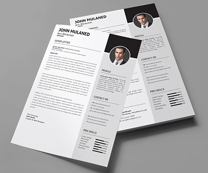 15 Awesome & Creative Resume Templates With Cover Letter