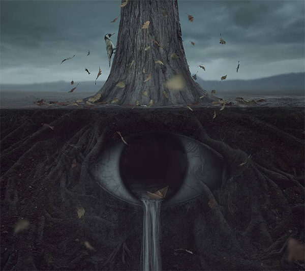 How to Create a Dark Surreal Eye Photo Manipulation in Adobe Photoshop