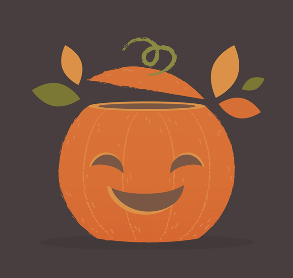 How to Draw a Halloween Pumpkin Illustration in Adobe Illustrator