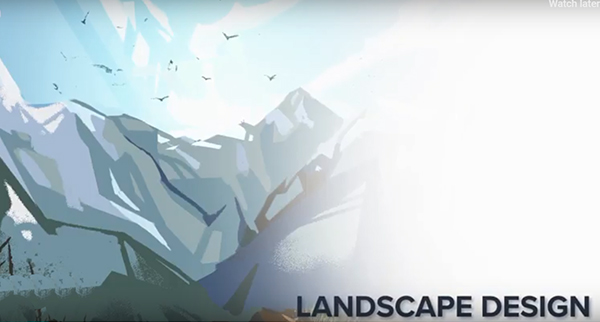 Illustration: Draw awesome landscapes