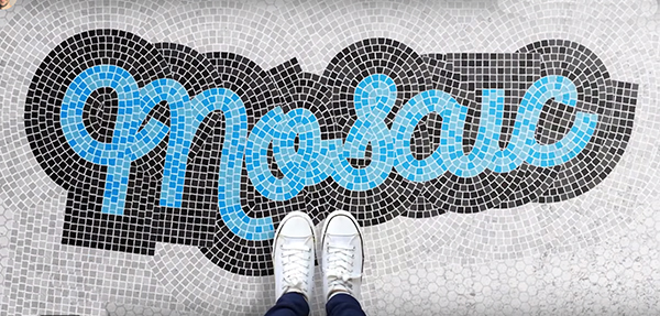 How To Create a Mosaic Text Effect