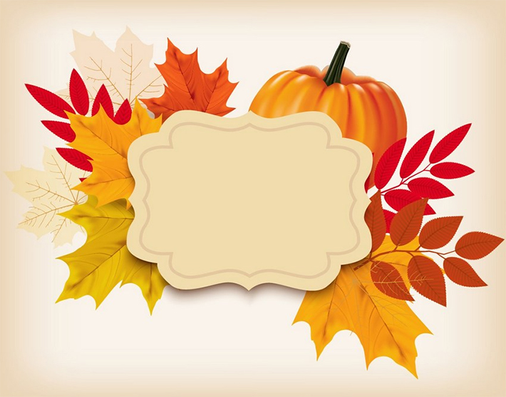 How to Create a Thanksgiving Background With a Pumpkin and Leaves in Adobe Illustrator